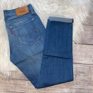 Levi's Low Skinny Flood 0/25 Light Wash Jeans 💕